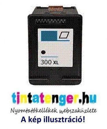 CC641EE[Bk] No.300XL 17ml nagy kapacitású utángyártott fekete tintapatron