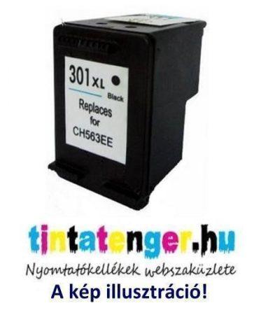 CH563EE[Bk] No.301XL 17ml nagy kapacitású utángyártott fekete tintapatron