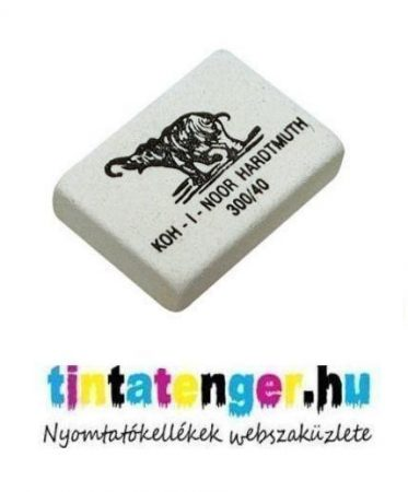 KOH-I-NOOR Kaucsuk radír 300/40 - 32x25x17 mm