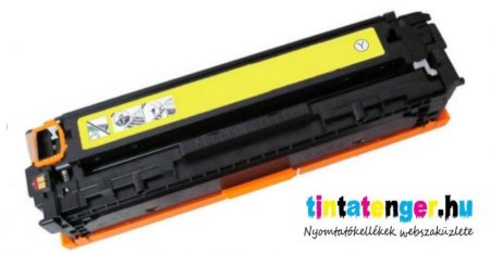CC532A (No.304A), CRG 718[Y] sárga prémium utángyártott kazetta