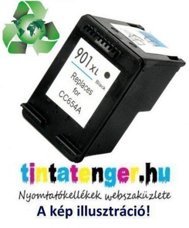 """CC654AE[Bk] No.901XL 20ml """"Green World"""" nagy kapacitású utángyártott fekete tintapatron"""