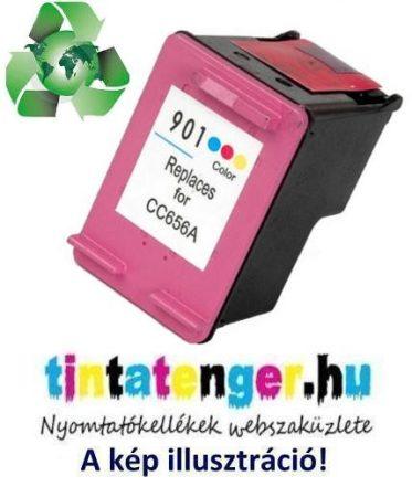 """CC656AE[CMY] No.901XL 3 x 6,5ml nagy kapacitású """"Green World"""" utángyártott színes tintapatron"""