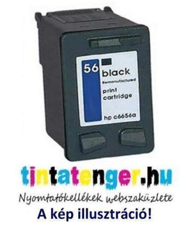 C6656A[Bk] No.56 20ml utángyártott fekete tintapatron