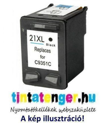 C9351CE[Bk] No.21XL 20ml nagy kapacitású utángyártott fekete tintapatron