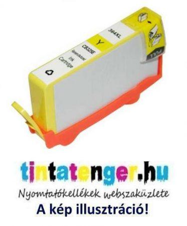 CB325AE[Y] No.364XL 12ml nagy kapacitású utángyártott sárga tintapatron