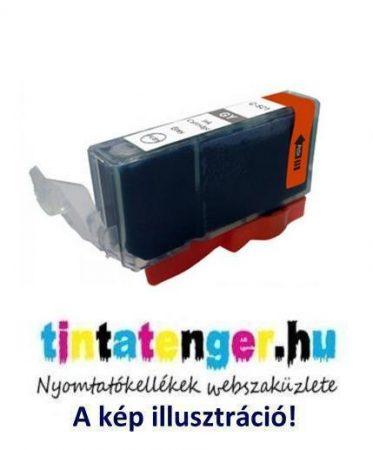 CLI-521G[GY] 10ml utángyártott szürke tintapatron, chippel