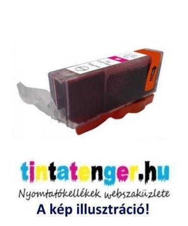 CLI-521M[M] 10ml utángyártott bíbor tintapatron, chippel