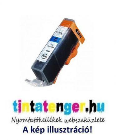 CLI-526C[C] 10ml utángyártott kék tintapatron, chippel