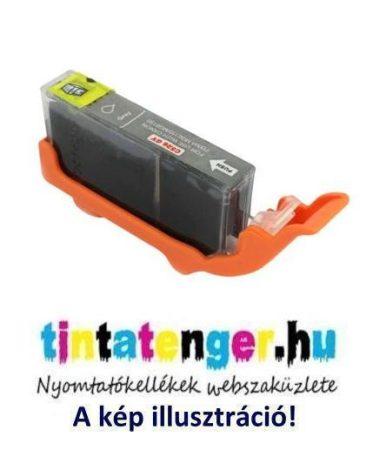 CLI-526G[GY] 10ml utángyártott szürke tintapatron, chippel