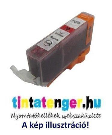 CLI-526M[M] 10ml utángyártott bíbor tintapatron, chippel