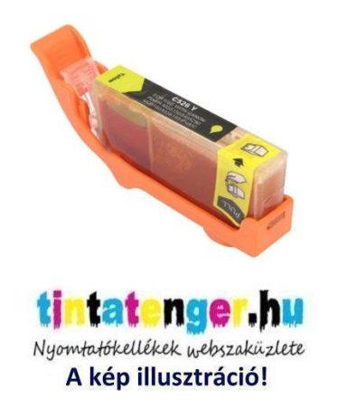 CLI-526Y[Y] 10ml utángyártott sárga tintapatron, chippel