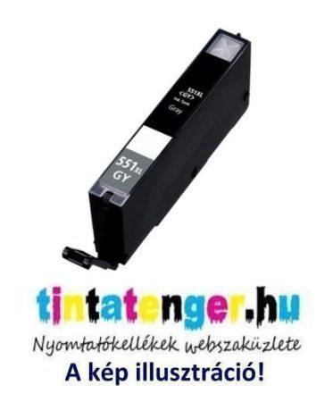 CLI-551XLG[GY] 13ml utángyártott szürke tintapatron, chippel