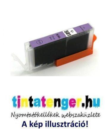 CLI-581XXL[PB] 13ml utángyártott nagy kapacitású foto-kék, tintapatron, chippel