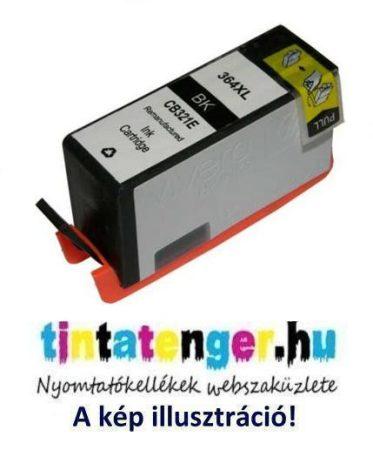 CN684EE[B] No.364XL 22ml nagy kapacitású utángyártott fekete tintapatron