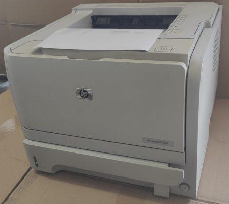 Hewlett Packard P2035 olcsón üzemeltethető használt lézernyomtató 2db festékkazettával!
