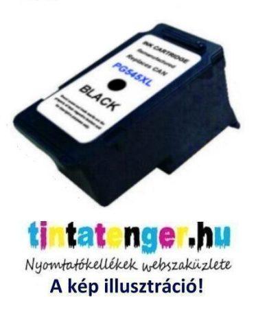 PG545XL [Bk] 15ml nagy kapacitású utángyártott fekete tintapatron PG-545XL