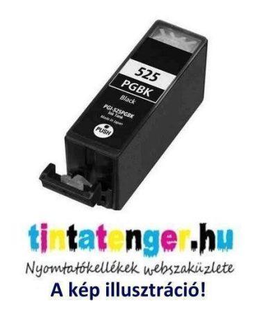 PGI-525B[Bk] 19ml utángyártott fekete tintapatron, chippel