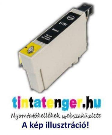 T0791[Bk] 12ml utángyártott fekete tintapatron