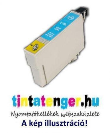 T0795[LC] 12ml utángyártott világoskék tintapatron