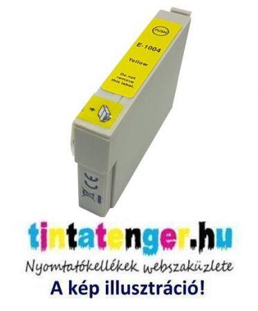 T1004[Y] 14ml utángyártott sárga tintapatron