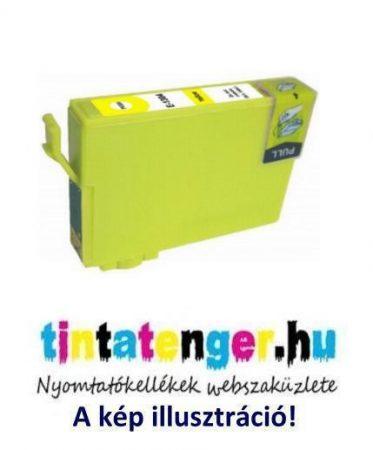 T1304[Y] 13ml utángyártott sárga tintapatron