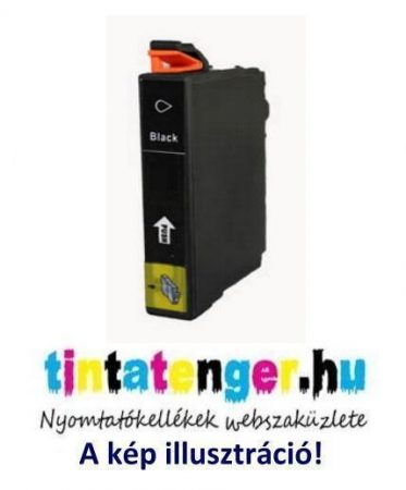 T2711XL[Bk] 27XL 17,7 ml utángyártott fekete tintapatron