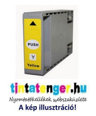 T7904XL[Y] 79XL 17ml utángyártott sárga tintapatron