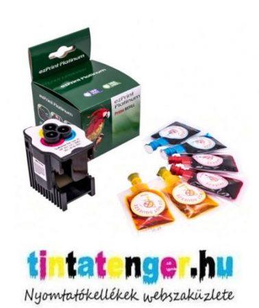 Töltőállomás HP 300, 301, 302, 304, 901 színes  patronokhoz, + 3 x 8ml (CMY) tinta